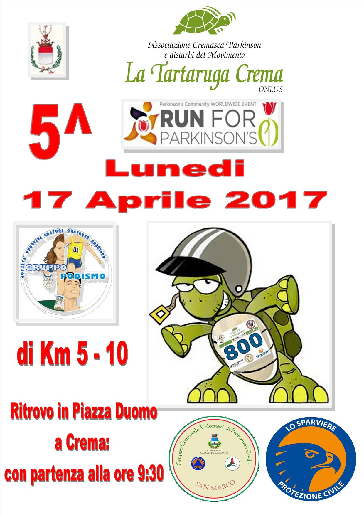 RUN FOR PARKINSON'S ITALIA